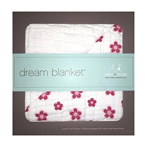 【美國代購 100%正品】Aden + Anais 四層厚毯(小公主) princess posie dream blankets 被毯