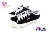 FILA ClassicKicks 經典帆布鞋 學生鞋 男鞋 休閒鞋C9984#黑色◆OSOME奧森童鞋