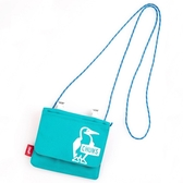 CHUMS Eco Pocket Shoulder Pouch (for KIDS)側背包 薄荷綠 CH602930M062【GO WILD】