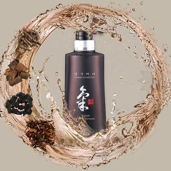 韓國熱銷 徐玄振人氣代言 KiGold 韓方髮元氣 洗髮精 潤絲精 調理頭部 韓方藥材 500ml