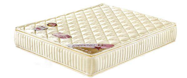 【森可家居】3.5x6.2尺四線獨立筒床墊(進口雙面布) 7JX89-10