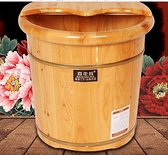 百年羚泡腳木桶家用木質洗腳木盆足浴盆實木高深桶過小腿養生神器  快意購物網