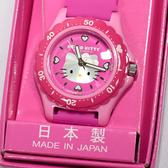 日本製 Hello Kitty CITIZEN 星辰錶 粉色粉底 氣壓防水指針式手錶 日本限定 附精美禮盒
