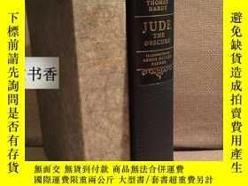 二手書博民逛書店1969年出版罕見Jude the Obscure(托馬斯哈代T