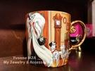 *Yvonne MJA* 美國迪士尼Disney商店限定正品 101忠狗 庫伊拉精緻釉面上彩陶瓷馬克杯 350CC