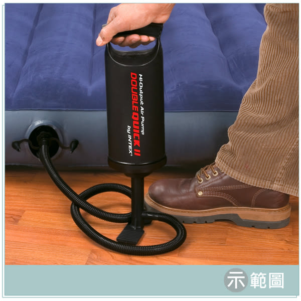 【INTEX】手壓充氣幫浦/打氣筒-高36cm(充氣商品加購品) LC236(68614)