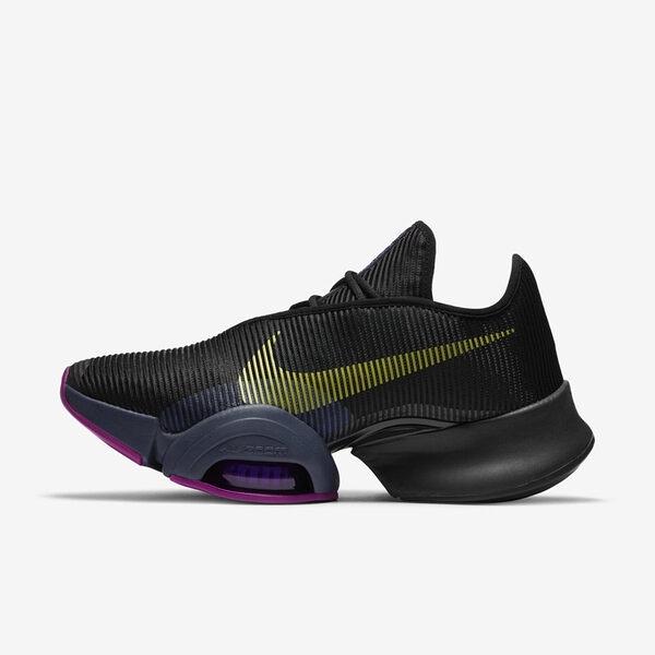 Nike W Air Zoom Superrep 2 [CU5925-010] 女鞋 運動 多功能 訓練 緩震 黑 黃