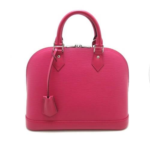 茱麗葉精品 全新精品 Louis Vuitton LV M42046 ALMA PM EPI水波紋皮革手提艾瑪包.桃紅(預購)