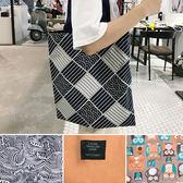 帆布袋 手提包 帆布包 手提袋 環保購物袋-單肩【SPYJ7403】 BOBI  05/11