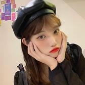 貝雷帽女百搭復古英倫帽子文藝八角帽【少女顏究院】