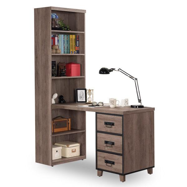 書桌【時尚屋】[C7]哈麥德4尺L型書桌C7-866-1免運費/免組裝/書桌