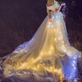 創意房間小彩燈閃燈串燈滿天星星燈裝飾防水