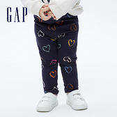 Gap嬰兒 布萊納系列 可愛印花針織長褲 731145-愛心圖案