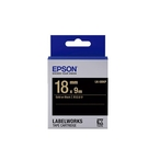 EPSON LK-5BKP 原廠標籤帶 (粉彩18mm )黑金 C53S655407