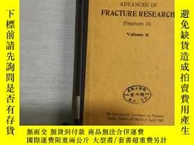 二手書博民逛書店ADVANCES罕見IN FRACTURE RESEARCH (