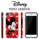 正版授權 Disney 迪士尼 iPhone X 8 7 Plus 三星 S9+ S8+ Note8 米奇 米妮 雙層手機殼 保護殼【AL86101】