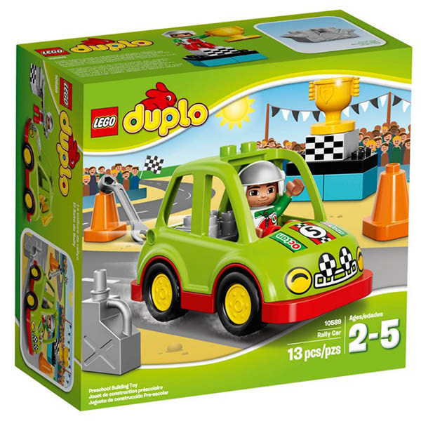 【LEGO 樂高積木】Duplo 得寶系列 - 拉力賽車 LT-10589