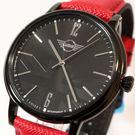 【萬年鐘錶】MINI Cooper Swiss Watches 簡約風腕錶- 紅x黑    42mm  MINI-160624