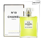 CHANEL 香奈兒 N°19 香水 淡香精 100ml N°19 EDP - WBK SHOP