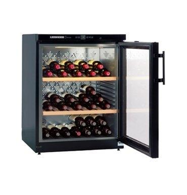 【得意家電】LIEBHERR 德國 利勃 WKb1712 獨立式單溫紅酒櫃 (121L)