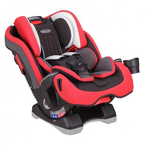 Graco - MILESTONE 0-12歲長效型嬰幼童汽車安全座椅(汽座) -紅熊9900元【預計9/5到貨】