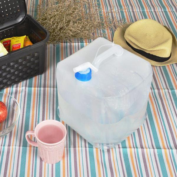 【nicegoods】MIT綠活多用途折疊水箱10公升-3入組 (台製 水桶 露營 野餐 防災)