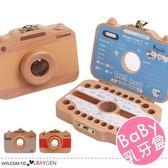 木製相機造型寶寶紀錄存放胎毛乳牙盒