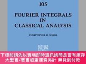 二手書博民逛書店Fourier罕見Integrals In Classical Analysis (cambridge Tract