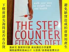 二手書博民逛書店The罕見Step Counter Fitness Diet S