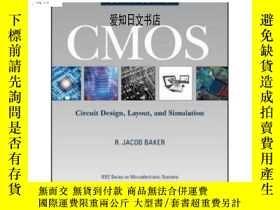 全新書博民逛書店【】CMOS: Circuit Design 英文原版 CMOS:電路設計、布局與模擬 R. Jacob Bake