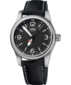 ORIS 豪利時 Hunter Team PS 飛行機械手錶-黑 0173376494063-SetLS