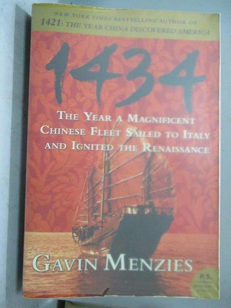 【書寶二手書T1/歷史_QXQ】1434: The Year a Magnificent Chinese Fleet…