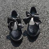 日系軟妹洛麗塔lolita牛津底休閒娃娃鞋圓頭學生蝴蝶結女單鞋 奇思妙想屋