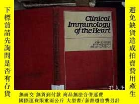 二手書博民逛書店clinical罕見immunologu of the hear
