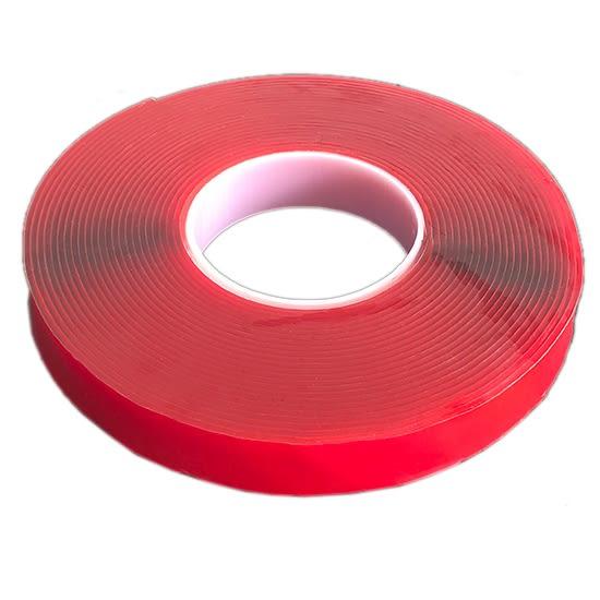 透明壓克力雙面膠(20mm) 無痕 強力 防水 汽車 耐高溫 不殘膠 無痕膠帶 超黏【P177】♚MY COLOR♚