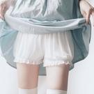 安全褲 春夏蕾絲不卷邊可愛少女安全褲防走光純棉大碼打底學生保險短褲女-Ballet朵朵