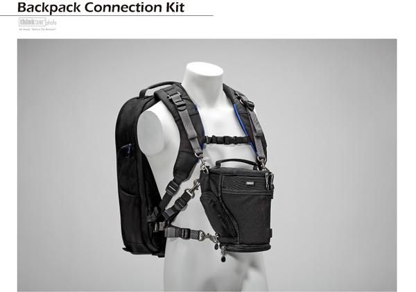 【聖影數位】ThinkTank 創意坦克 Backpack Connection Kit 連接背帶 BK261