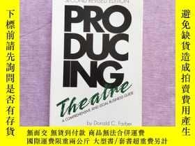二手書博民逛書店Producing罕見Theatre by Donald C.
