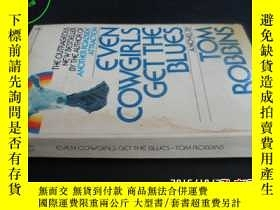 二手書博民逛書店EVEN罕見COWGIRLS GET THE BLUES(羅廷亮