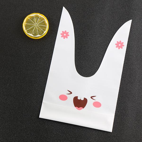 48入 大號兔子 可放兩個布丁杯 包裝袋 西點袋【D010】塑膠袋 手提袋 糖果袋 餅乾袋點心禮品袋