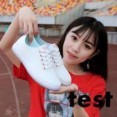 小白鞋 女百搭韓版平底鞋跑步運動鞋休閒鞋 艾米潮品館
