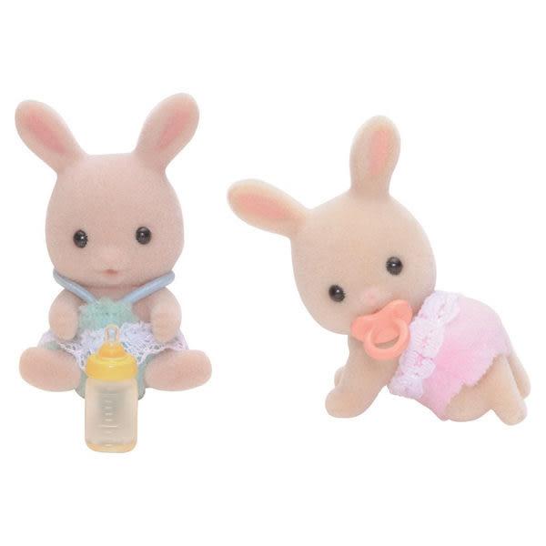 《 森林家族 - 日版 》牛奶兔雙胞胎 ╭★ JOYBUS玩具百貨