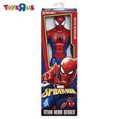 玩具反斗城  孩之寶 HASBRO 漫威蜘蛛人12吋泰坦英雄人物-POWER FX蜘蛛人