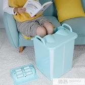 旅游折疊泡腳桶過膝泡腳桶便攜可折疊深加高塑料足浴盆過小腿膝蓋 YTL  母親節特惠