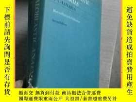 二手書博民逛書店英文書the罕見megaloblastic anaemias i chanarin second edition