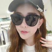 墨鏡女潮眼鏡2018新款圓形太陽鏡女士圓臉韓版復古 my1033【雅居屋】