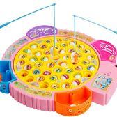 兒童磁性釣魚玩具小孩子男孩女寶寶女孩益智男童1234-56周歲嬰兒jy 快速出貨全館免運