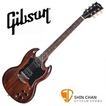 GIBSON 2017 SG Faded T 電吉他 Worn Brown/咖啡色 台灣總代理/公司貨 附贈GIBSON電吉他袋