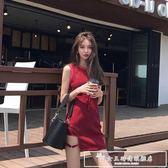 夏季性感夜店女裝韓版連身裙女夏chic港味背心裙子氣質短裙潮『韓女王』