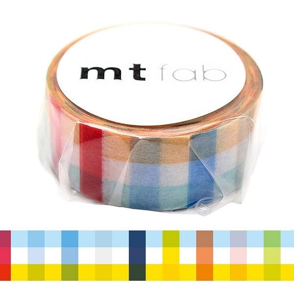日本mt fab Masking Tape 和紙膠帶 格子 15mm